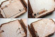 Mini-Alben-Junk Journals