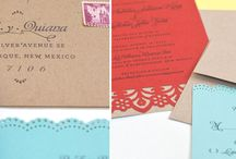 Wedding Sationary / Save the dates, invitations, programs, menus, thank you cards / by Ro !