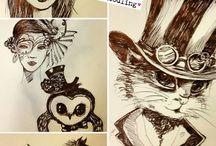 I ❤ doodling !