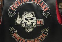 FUCKING FREAKS MC / Because fuck you, since 1987