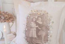Photo frames - for wedding table labels