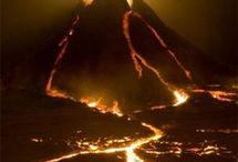 På vulkaner