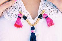 DIY tassel jewelleries