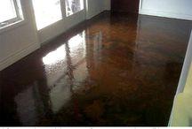 Floors / Concrete Stain