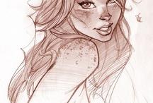 kreslenie , komix, fantasy,