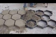 cemento o hormigon impreso