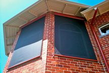 Outdoor Blinds / We service all areas of Melbourne with Outdoor blinds to keep out the heat!