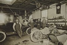 old time repair shop