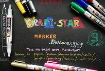 Craft Star / Markery dekoracyjne Zebra Craft Start