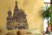 World and Skyline / World, Cities, Skylines - create an escape within your own four walls with our travel and location inspired wall tattoos.