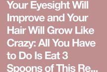Improve eyesight and hair growth