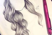 Saç çizimleri
