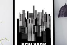 Πόλεις και Χάρτες αφίσες
