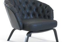 3dsky armchairs