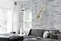 πλαισιωμένη τοίχοι