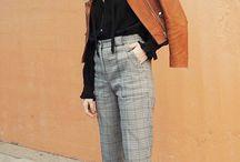 Chic Plaid Pants Outfit
