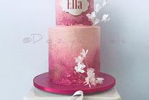 Fuschia Fantasy- cakes