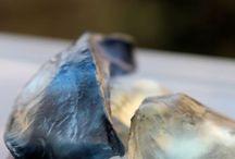 Gemstone Soaps / Gemstone and Crystal Inspired Soaps