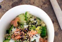 Quinoa recept