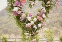 ghirlande di fiori veri