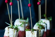 Canapes and little munches
