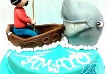 Torta pescatore / www.torteamorefantasia.com