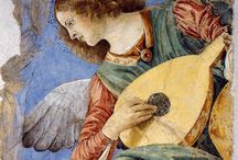 Melozzo da Forlì (c. 1438 – 1494) / Melozzo da Forlì (c. 1438 – 8 November 1494) was an Italian Renaissance painter and architect. His fresco paintings are notable for the use of foreshortening. He was the most important member of the Forlì painting school.
