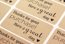 Business and packaging labels