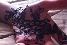 Henna / Peacock henna