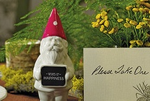 i am obssessed with gnomes / by Jennifer DeMent
