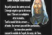 Pensées amérindiennes