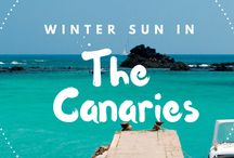 Winter Sun / Escape the cold English weather and soak up some much needed sun! We all need some extra Vitamin Sea during the winter!