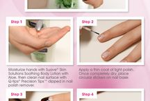 ManiCure Inspiration by Suave and Q-tips / Nail Care Designs and Inspiration
