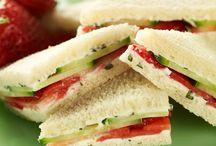 Tea Cakes & Tea Sandwiches / Light Sweet Afternoon Treat