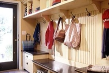 laundry and mud rooms / by susie vereen