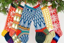 christimas knitting / by Christine Sydnor