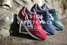 "Asics Gel Lyte III Varsity Pack / As the 25th anniversary of the Gel Lyte III continues, Asics launch the ""Varsity Pack"" a rework of the classic runner, in a suede finish and in 3 distinctly wearable colour ways."