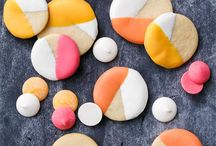 colorblock sugar cookies