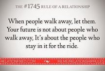 Relationship Quotes / Inspirational Quotes about relationships.