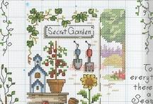 Gardening Cross Stitch