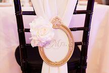 Sillas de la boda