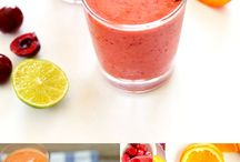Smoothies and Drinkables / Delicious and healthy smoothie recipe ideas