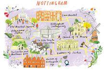 NOTTINGHAM / นอตทิงแฮม (Nottingham) เป็นนครและเมืองหลวงของมณฑลนอตทิงแฮมเชอร์ในภาคการปกครองมิดแลนด์สตะวันออกของอังกฤษ และเป็นหนึ่งในกลุ่มเมืองใหญ่หลักของอังกฤษ