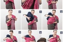 Baby Wrap tying instructions