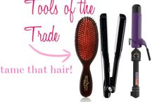 Styling Tools / tools for your hair