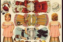 Poupée en papier à habiller