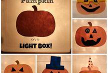 Light box ideas / by Carrie LaRoy