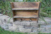 Barnwood / stuff I've built from barnwood and stuff I'd like to build