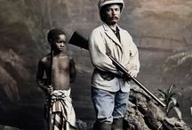 EXPLORERS - Stanley (1841-1904) / 1872 - Henry Morton Stanley (1841-1904) and his adopted son Kalulu (1865-1877)