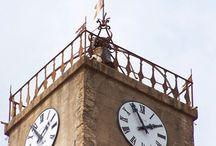 Cadrans et horloges Bodet / Cette base de photos regroupe tous les cadrans et horloges de la marque Bodet, horlogerie d'édifices où horlogerie industrielle.